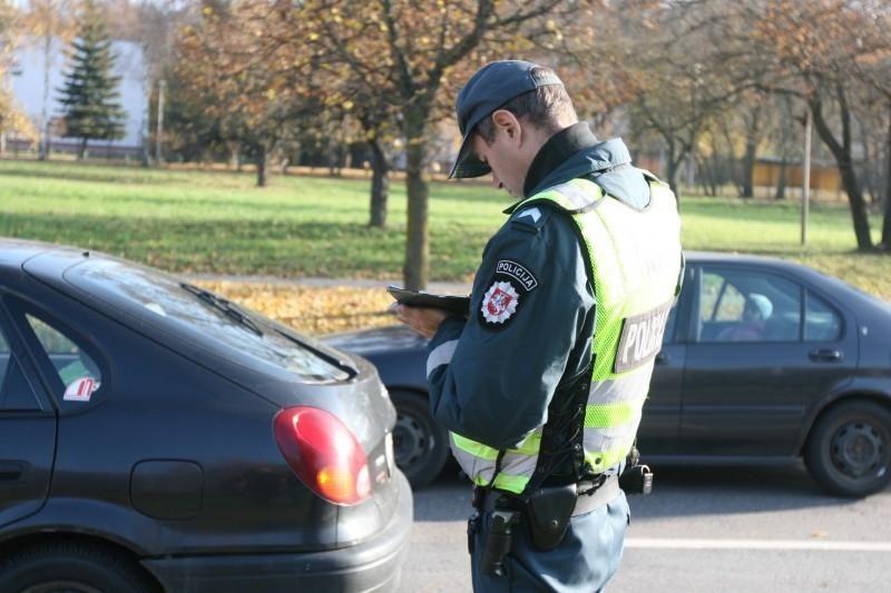 Kauno apskrityje pagavo daugiausiai neblaivių vairuotojų