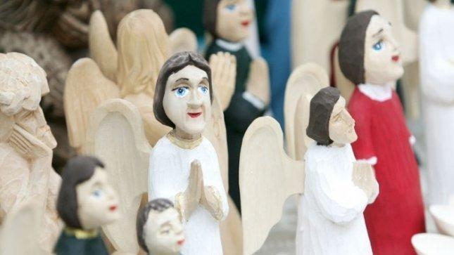 Kalėdų parodoje - angelai iš viso pasaulio