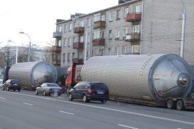 Kur nukeliavo milžiniškos cisternos?