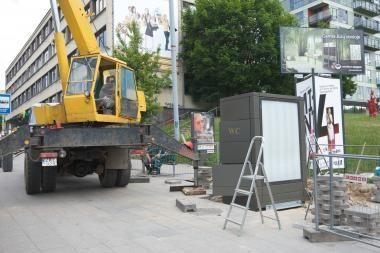 Vilniaus stotelėse dygsta automatizuoti tualetai