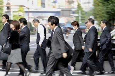 Recesija nusirito ir iki Japonijos