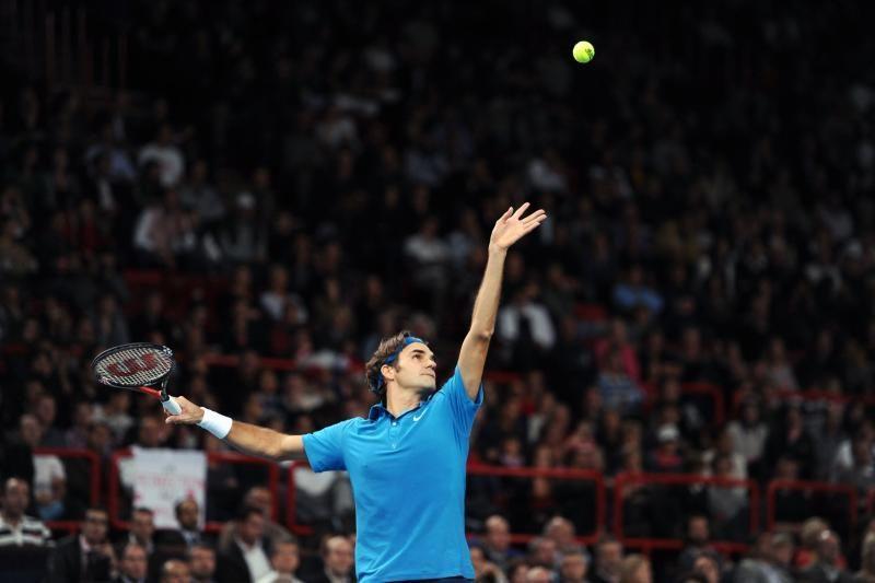 Pirmuoju turnyro Londone pusfinalio dalyviu tapo R.Federeris