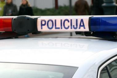 Palangoje pareigūnas sukėlė avariją
