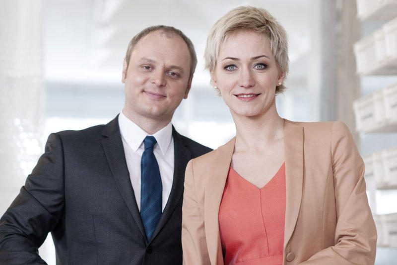 """Žinių laidą """"Info diena"""" su R.Tapiniene ves D.Jursevičius"""