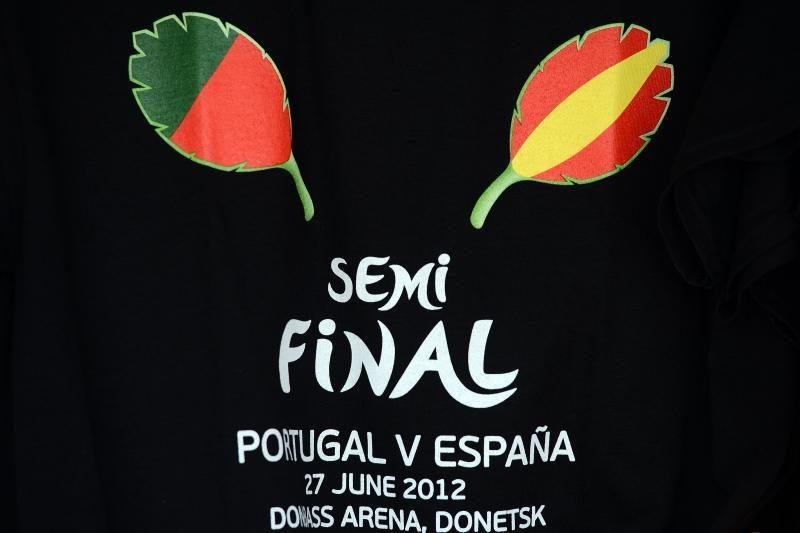 """Portugalija - Ispanija (""""Euro 2012"""" pusfinalio apžvalga)"""