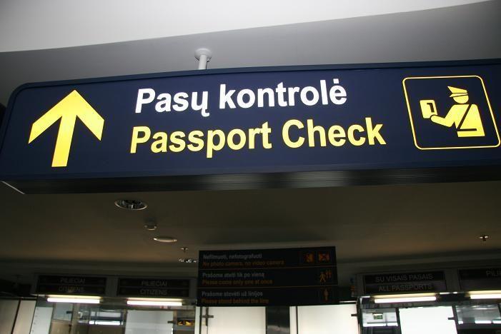 Oro uoste įkliuvo policijos ieškoti įtariamieji – lietuvis ir kirgizas