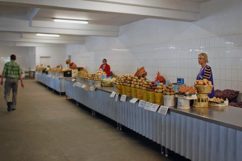 Kaliningrado gyventojai bulves perka Klaipėdoje