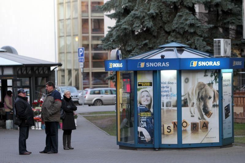"""Lietuvos paštas pretenduoja į """"snoriukus"""""""