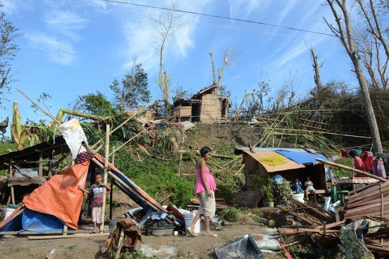 Filipinuose taifūno aukų padaugėjo iki 540