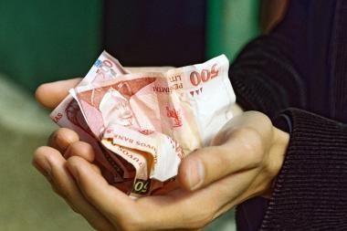 Padaugėjo gaunančių minimalią algą