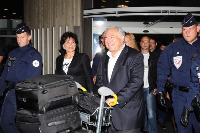 Niujorko teisėjas atmetė D.Strausso-Kahno neliečiamybės prašymą
