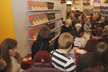 Vilniaus knygų mugėje A.Čekuolis sulaukė rekordinio skaitytojų dėmesio