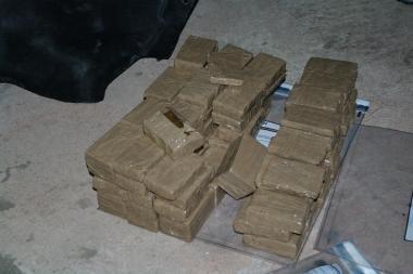 Pareigūnai sulaikė 3 mln. litų vertės kvaišalų krovinį