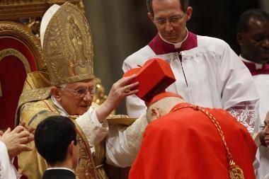 Popiežius paskyrė 24 naujus kardinolus