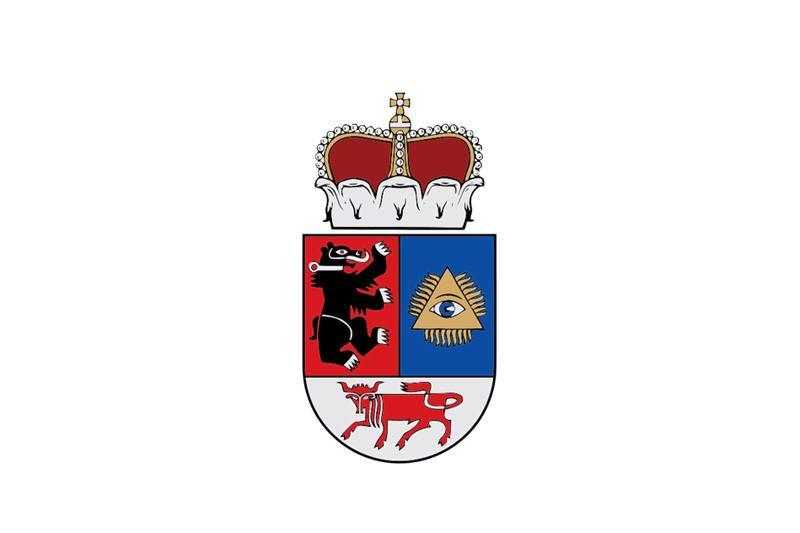 Lietuvos miestų ir miestelių herbai: ginkluotos ir žuvys, ir lokiai