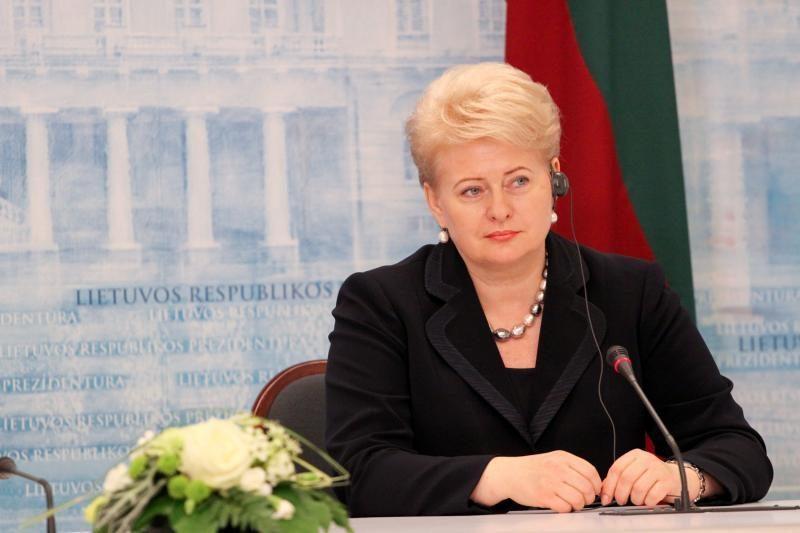 Kitą savaitę prezidentė D.Grybauskaitė vyks į Ukrainą