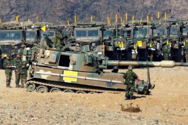 Š.Korėja: JAV ir P.Korėjos karinių pratybų pasekmių