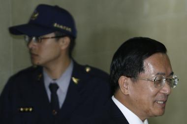 Buvęs Taivano vadovas - vėl kalėjime