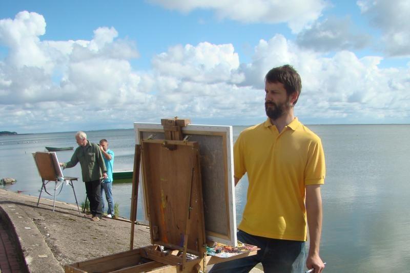 Į Neringą suvažiuos ekspresionistinės tapybos tradicijų tęsėjai