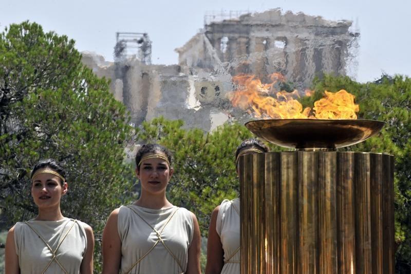 Olimpiečių nešamas ugnies deglas kvies visus į Olimpinės dienos šventę