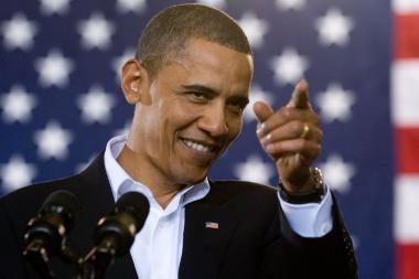 B.Obamos metinis pranešimas: akcentuota kova su nedarbu