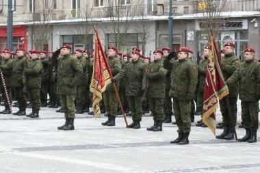 Krašto apsaugos savanorių pajėgos minės 19-ąsias įkūrimo metines