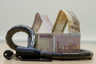 Per spalį - daugiau nei 2 tūkst. įmonių turto areštai