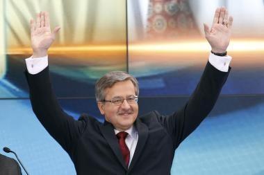 Lenkijos politikai giria