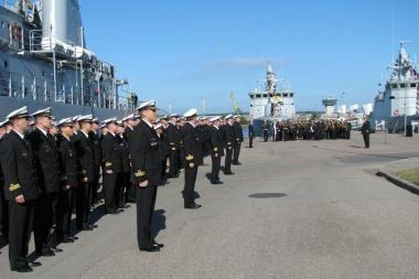 Paminėta Lietuvos karinių jūrų pajėgų atkūrimo diena