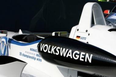 VW veržiasi į F-1