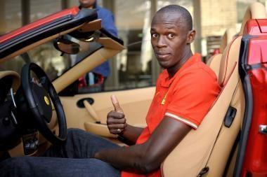 U.Boltas bėgs dar greičiau