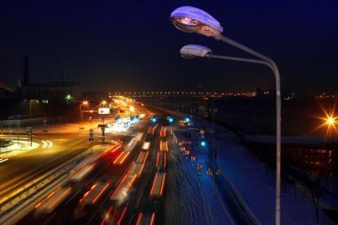 Kauno gatvėse vėl švies visi šviestuvai (papildyta)