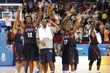 Olimpinė krepšinio čempionė - JAV