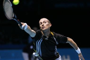 Baigiamajame sezono teniso turnyre Londone - ruso triumfas