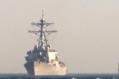 JAV karo laivas atplaukė į Gruziją
