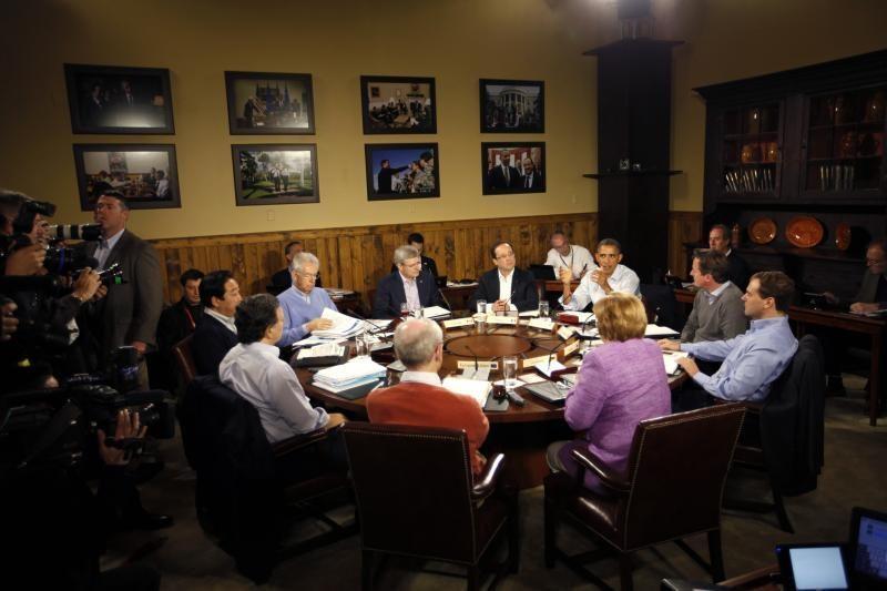 Grupė G-8 pasiryžusi skatinti augimą ir palaikyti stabilumą pasaulyje