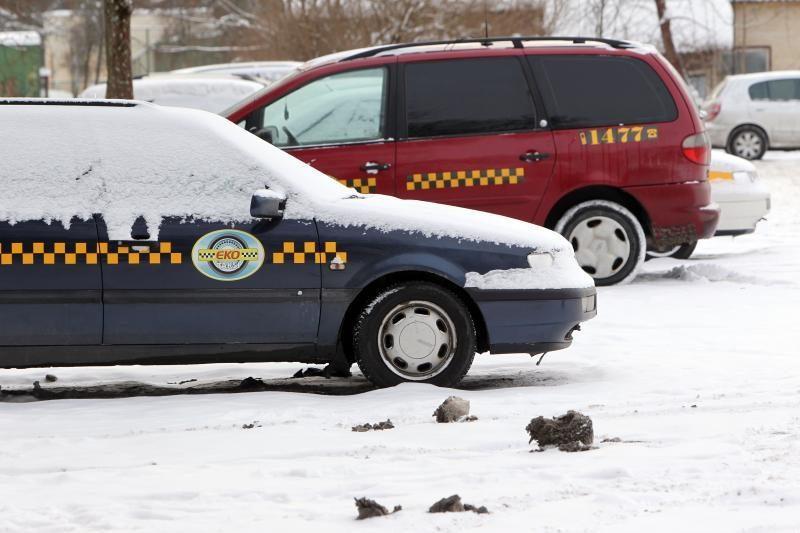 Sostinėje per reidą išaiškinta 14-a nelegalių taksistų