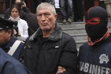 Italų mafijos vadeiva pasikorė kalėjime