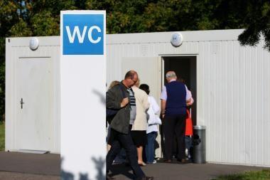 Auksinio tualeto byloje išaiškinta biotualeto sąvoka