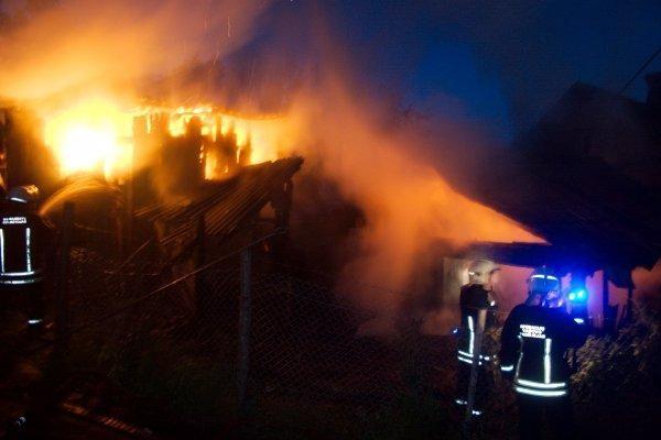 Dagestano Irganajaus hidroelektrinėje naktį šėlo gaisras