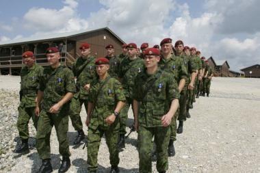 Lietuvos kariai tarptautinėse operacijose galės dalyvauti iki 2014-ųjų