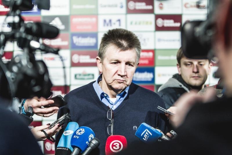 """V. Masalskis: """"Žalgiryje"""" panikos nėra, rengiamės Eurolygos mačui"""