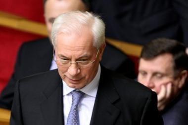 Naujasis Ukrainos ministras pirmininkas - M.Azarovas