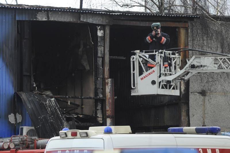 Per gaisrą Maskvos turgavietėje žuvo 17 darbininkų migrantų