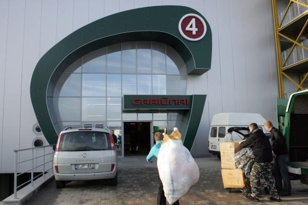 Po kratų Gariūnuose sulaikyta 18 asmenų