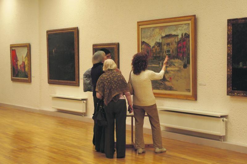 P.Domšaičio galerija Arbit Blato parodą išlydės renginiais