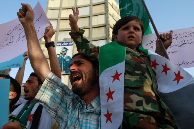 Raudonasis Kryžius: Sirijoje - pilietinio karo padėtis