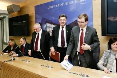 Seimo opozicijos politinės iniciatyvos stringa