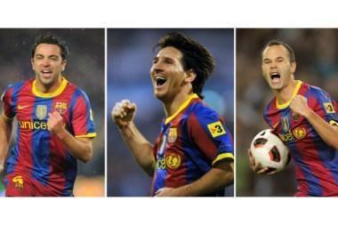 """Barca"" trio pretenduoja laimėti ""Ballon d'Or"""