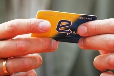 Vilniaus elektroninio bilieto kortelės galios metais ilgiau